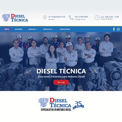 rewelsite-proyectos-diseno-web-diesel-tecnica